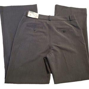 NWT Worthington Straight Leg Grey Dress Slacks
